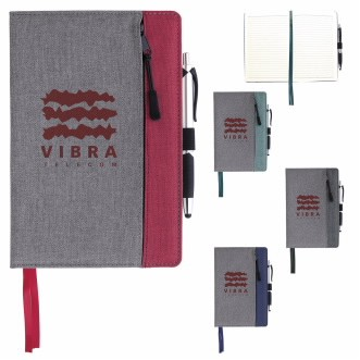Good Value® Front Zip Pocket Journal
