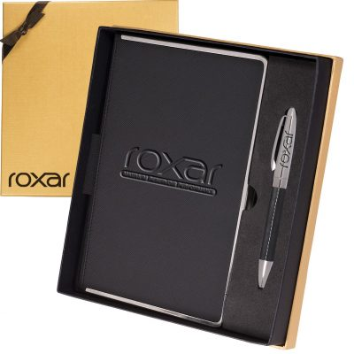 Naples™ Metallic Trim Journal & Pen Gift Set