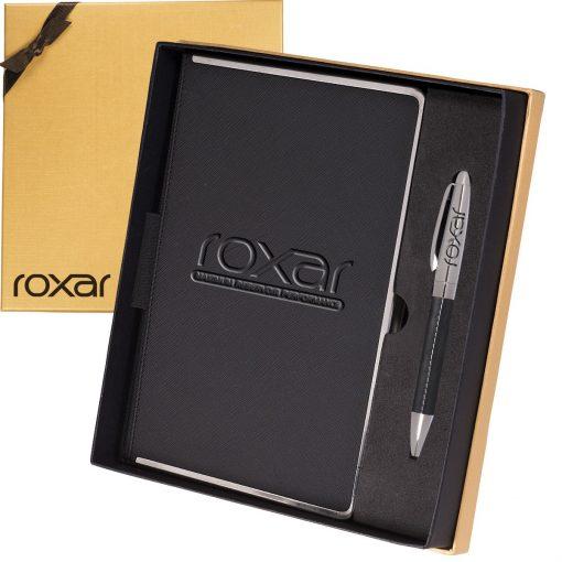 Naples™ Metallic Trim Journal & Pen Gift Set