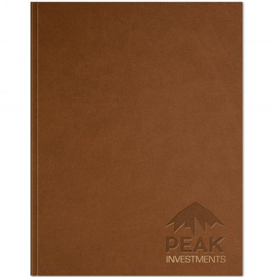 "Rustic Leather Flex - Large NoteBook (8.5""x11"")"