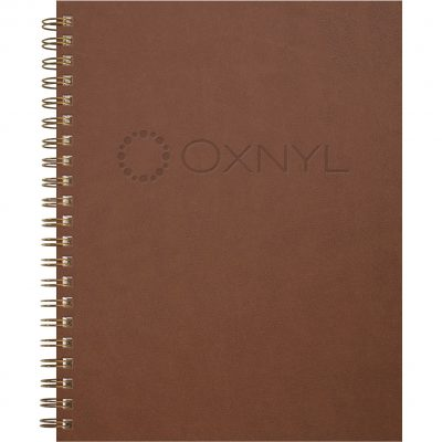 """Rustic Leather Journal - Large NoteBook (8.5""""x11"""")"""