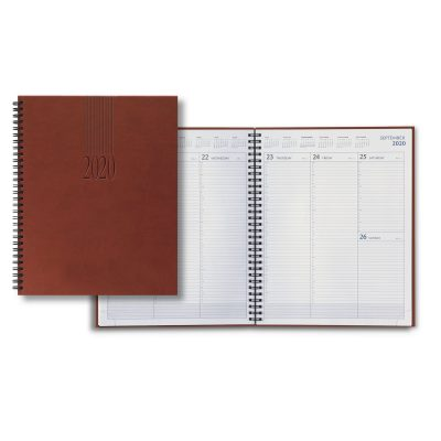 2020 Tucson Large Desk Wire Weekly Planner