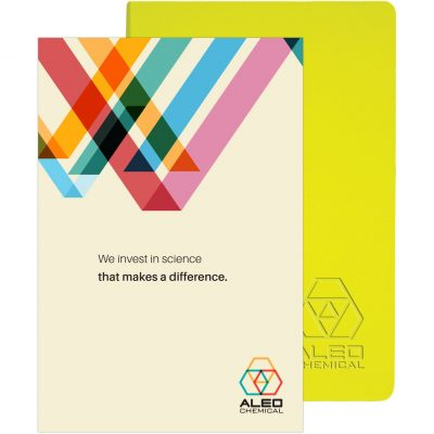 "Ambassador™ Journal w/Full-Color Tip-In (5.5""x8.25"")"