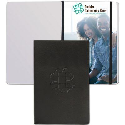 """SoftNova™ Journal w/Full-Color Tip-In (5.5""""x8.25"""")"""