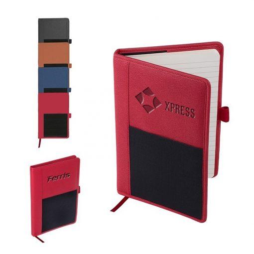 Roma Journal w/Multi-Use Elastic Pocket
