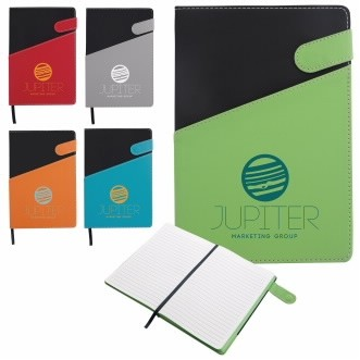 Good Value® Colorblock Magnetic Journal