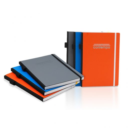 Contempo Bookbound Journal with Matching Color Flat Elastic