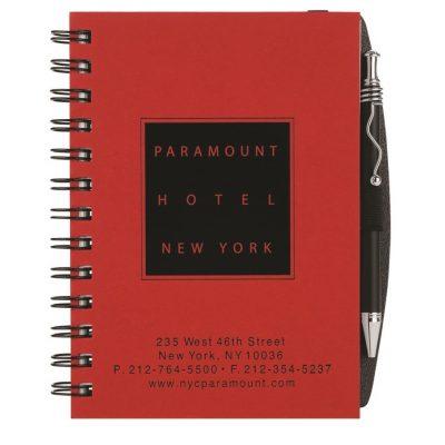 """Foil Stamped Pronto! Journals w/Pen Safe (5""""x7"""")"""