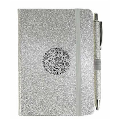 Glitter Journal w/Pen