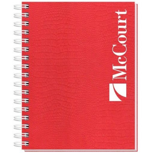 """Embossed Alligator Textured Journal w/100 Sheets (6½"""" x 8½"""")"""