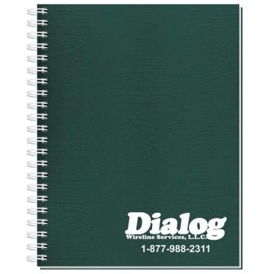"Embossed Alligator Textured Journal w/100 Sheets (8½"" x 11"")"