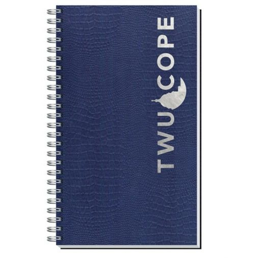"""Embossed Alligator Textured Journal w/50 Sheets (5¼"""" x 8¼"""")"""