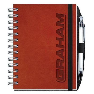 "Executive Journals w/100 Sheets & Pen (5"" x 7"")"