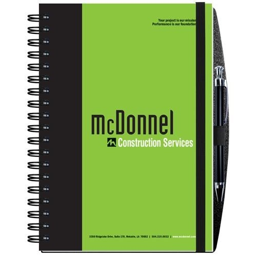 """Gloss Cover Journals w/100 Sheets & Pen (7"""" x 10"""")"""