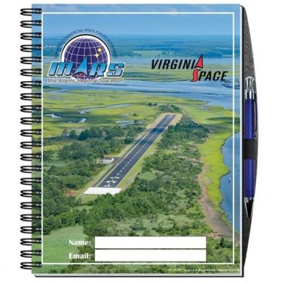 "Gloss Cover Journals w/100 Sheets & Pen (8 1/2"" x 11"")"