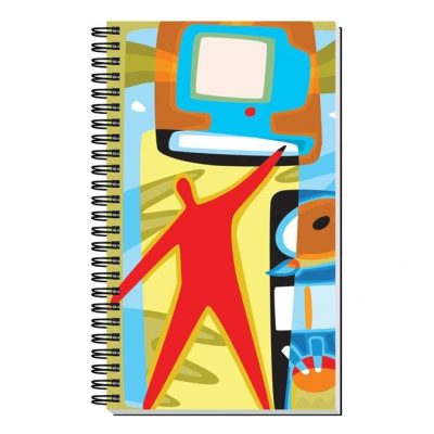 "Gloss Cover Journals w/50 Sheets (4"" x 6"")"