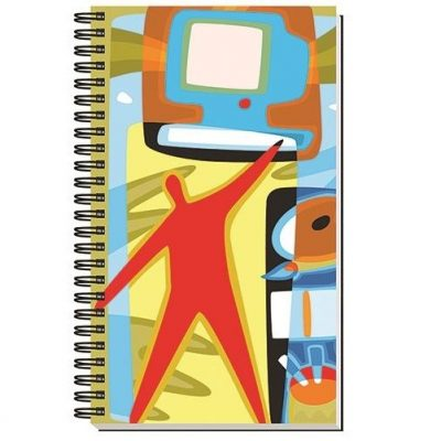"Gloss Cover Journals w/50 Sheets (5 1/4"" X 8 1/4"")"