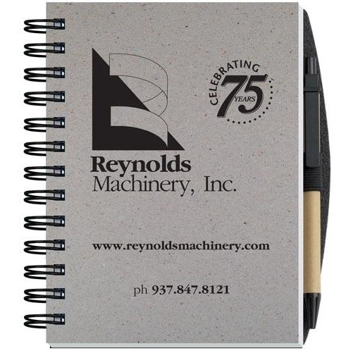 """Recycled Journals w/Pen Safe Back Cover (5"""" x 7"""")"""