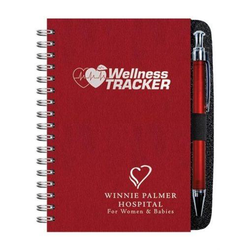 """Wellness Journals w/Pen & 100 Sheets (4"""" x 6"""")"""