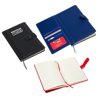 Travel Journal with Card Pockets