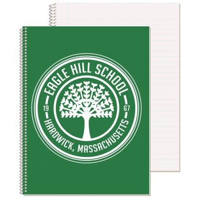 """Wide Ruled Composition Notebook w/1 Color (8 1/2"""" x 10 1/2"""")"""