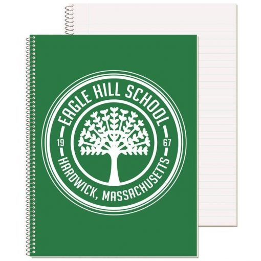 "Wide Ruled Composition Notebook w/1 Color (8 1/2"" x 10 1/2"")"