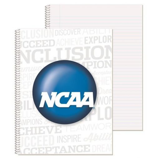 """Wide Ruled Econo Composition Notebook w/4 Color Process (8 1/2"""" x 10 1/2"""")"""