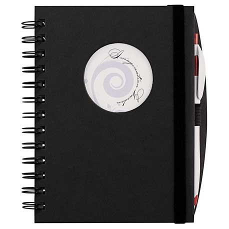 Frame Circle Hardcover Spiral JournalBook®