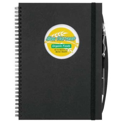 Frame Circle Large Hardcover Spiral JournalBook®™