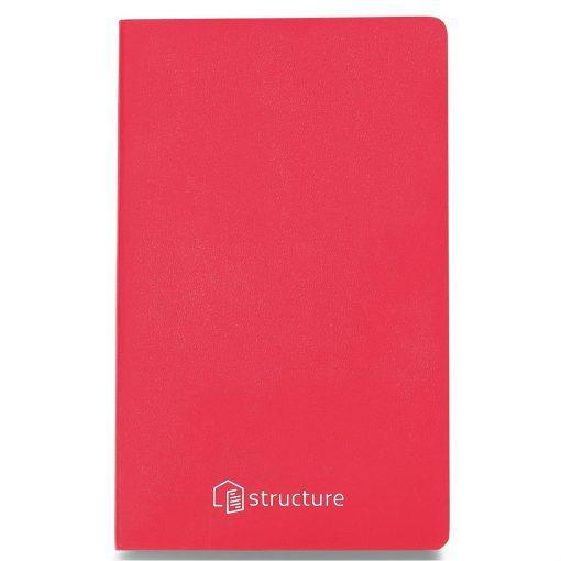 Moleskine® Volant Ruled Large Journal - Geranium Red