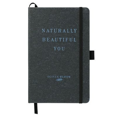 "5.5"" x 8.5"" Recycled Leather Bound JournalBook®"