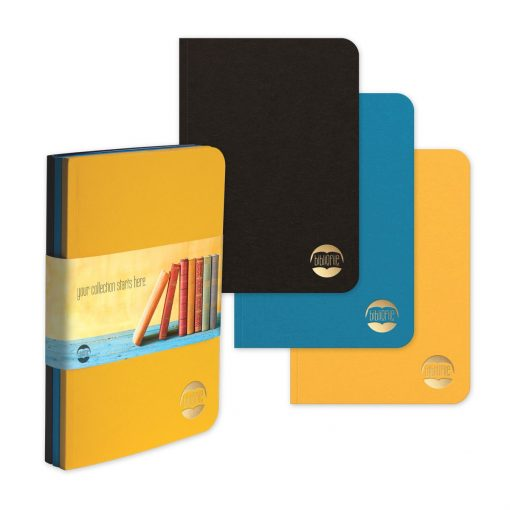 "BrightNotes™ TriPac NotePad w/GraphicWrap (3 Count) (5""x7"")"