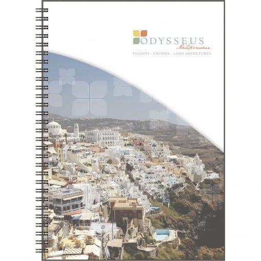 """ClearView™ Medium NoteBook Journal (7""""x10"""")"""