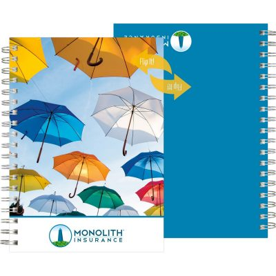 "FlipBooks™ NoteBook w/Full-Color (7""x10"")"