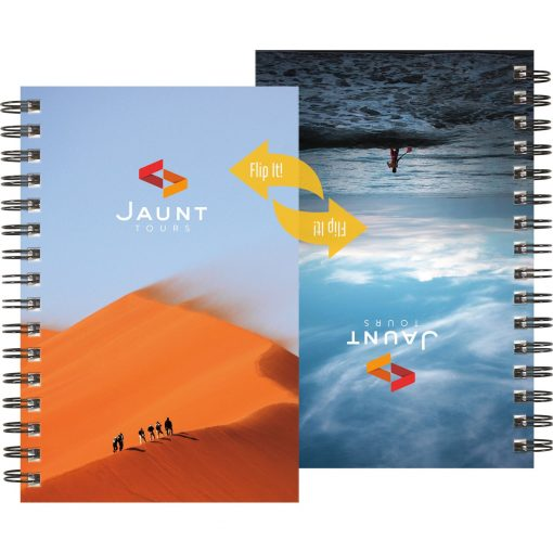 """FlipBooks™ SeminarPad Notebook w/Full-Color Cover (5.5""""x8.5"""")"""