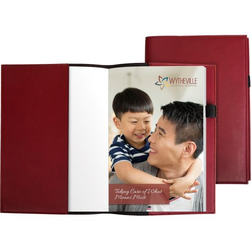 """Pedova™ Refillable Notebook w/Full-Color Tip-in Page (5.5""""x8"""")"""