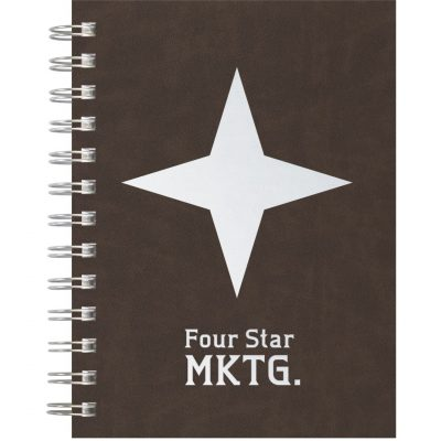 "PremiumLeather Medium Journal NotePad (5""x7"")"
