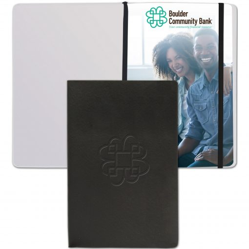 """SoftNova™ Journal w/Full-Color Tip-In Page (5.5""""x8.25"""")"""