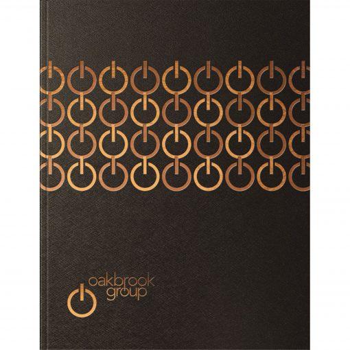 "TechnoMetallic™ Flex Journal Large NoteBook (8.5""x11"")"