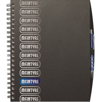 "TechnoMetallic™ Journals Medium NoteBook (8.5""x11"")"