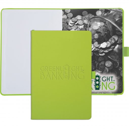 """Vienna™ Large Journal w/Full Color Tip-In Page (6""""x9"""")"""