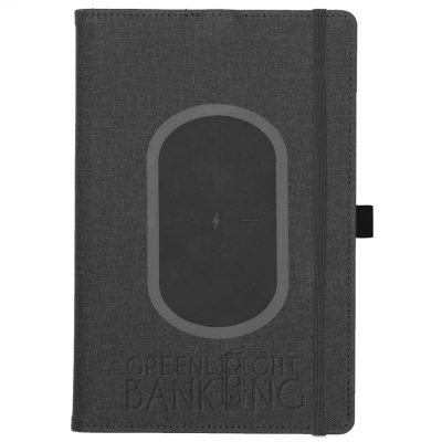 "Walton™ Charging Refillable Journal (5.75"" x 8.75"")"