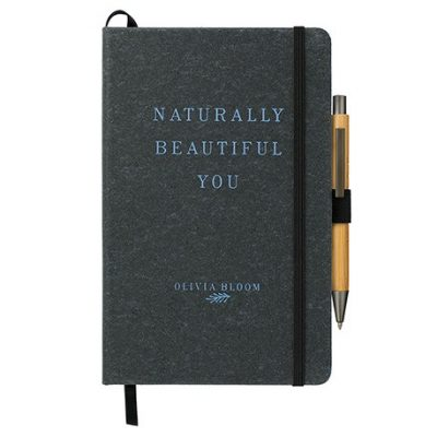 "5.5"" x 8.5"" Recycled Leather JournalBook Bundle Se"