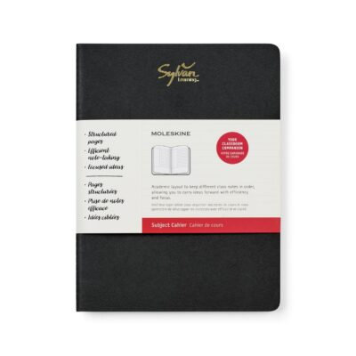 Moleskine® Subject Cahier X-Large Journal - Black