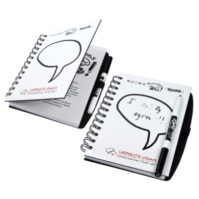 "5"" x 7"" Dry Erase Spiral Journal Notebook"