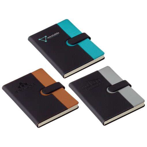 Chic Journal with Magnetic Closure