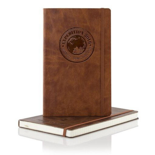 Cuir Ivory Medium Journal