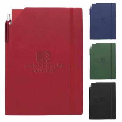 Good Value® Essential Journal w/Ribbon Stylus Pen