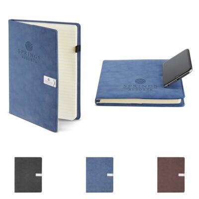Nuba Refillable Journal w/Phone Stand