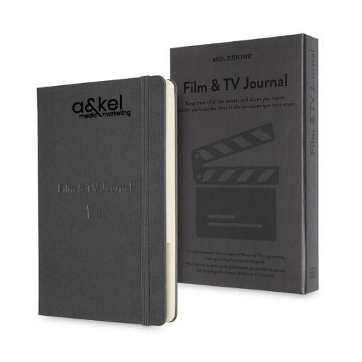 Moleskine® Passion Journal - Film & TV - Grey
